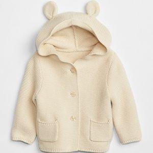 GAP baby garter sweater